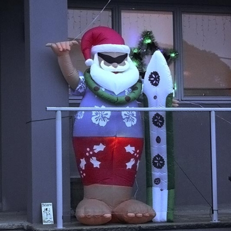 Le Père Noël Australien