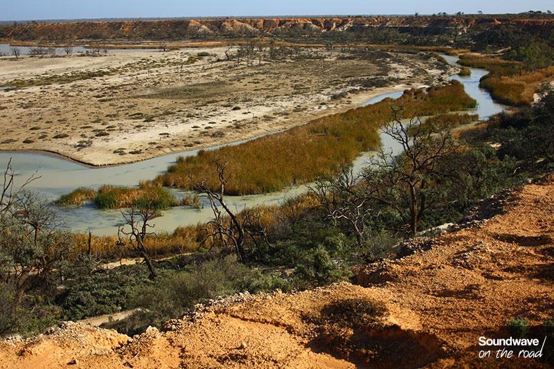 Rivière de l'outback