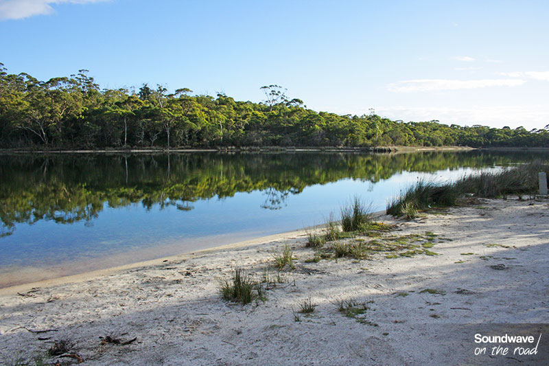Repos au campsite de Binalong Bay