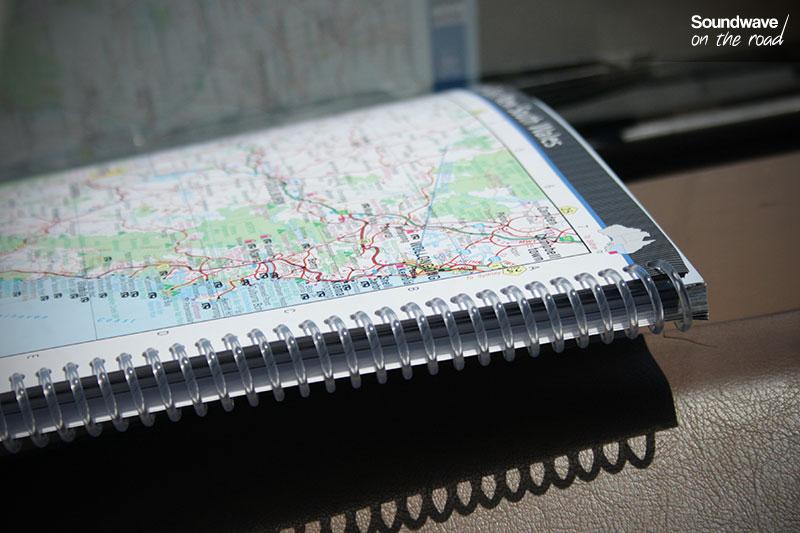 La carte, outil essentiel du roadtrip !