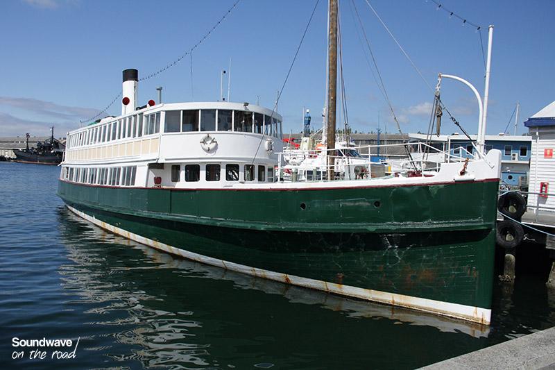 Bateau dans le port d'Hobart