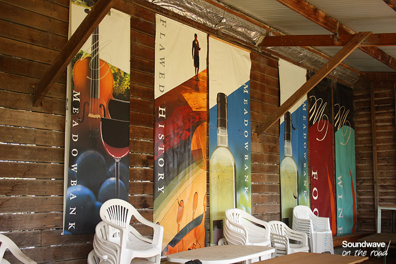 Chais de dégustation de vin en Tasmanie