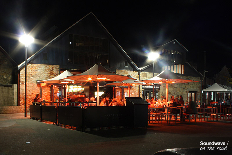 Restaurant sur la Salamanca Place à Hobart