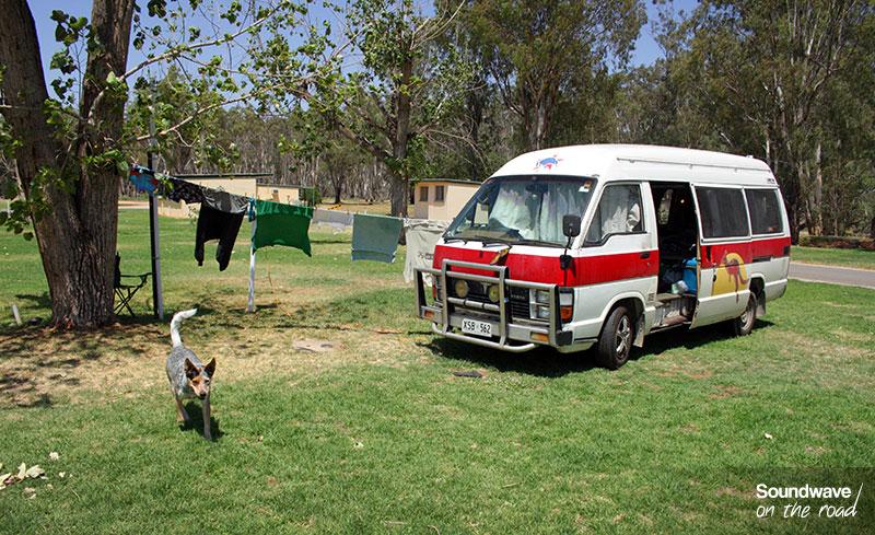 Camping en van en Australie