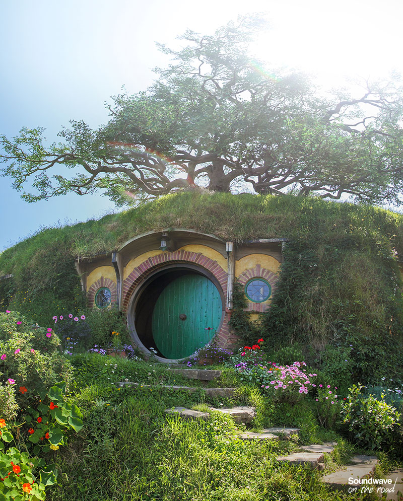Bag End in Hobbiton, New Zealand
