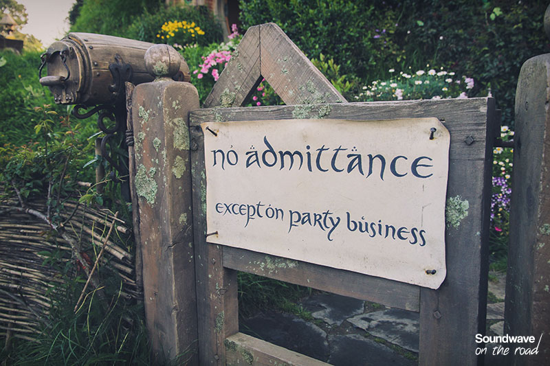 No admittance except on party business