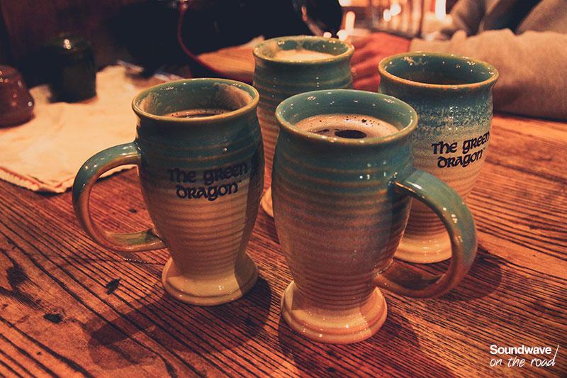 Chopes de bières à Hobbiton