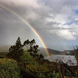 Arc en Ciel en Nouvelle Zélande