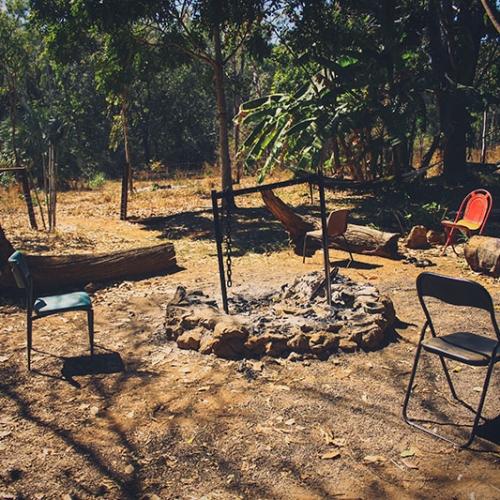 Camp Dans Le Bush Australien