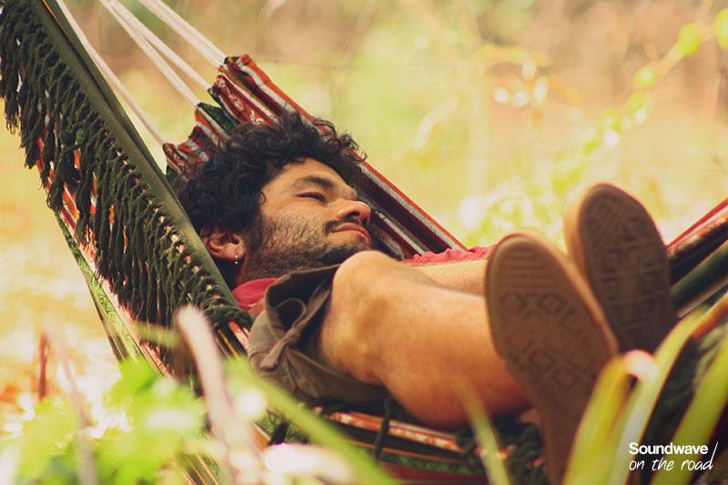 Relax dans un hamac