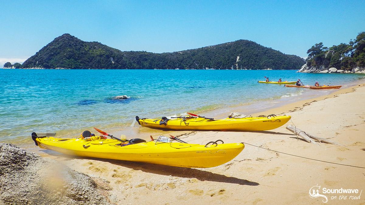 Kayak time in Abel Tasman, New Zealand