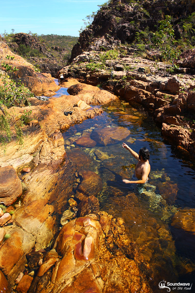 Baignade en pleine nature en Australie