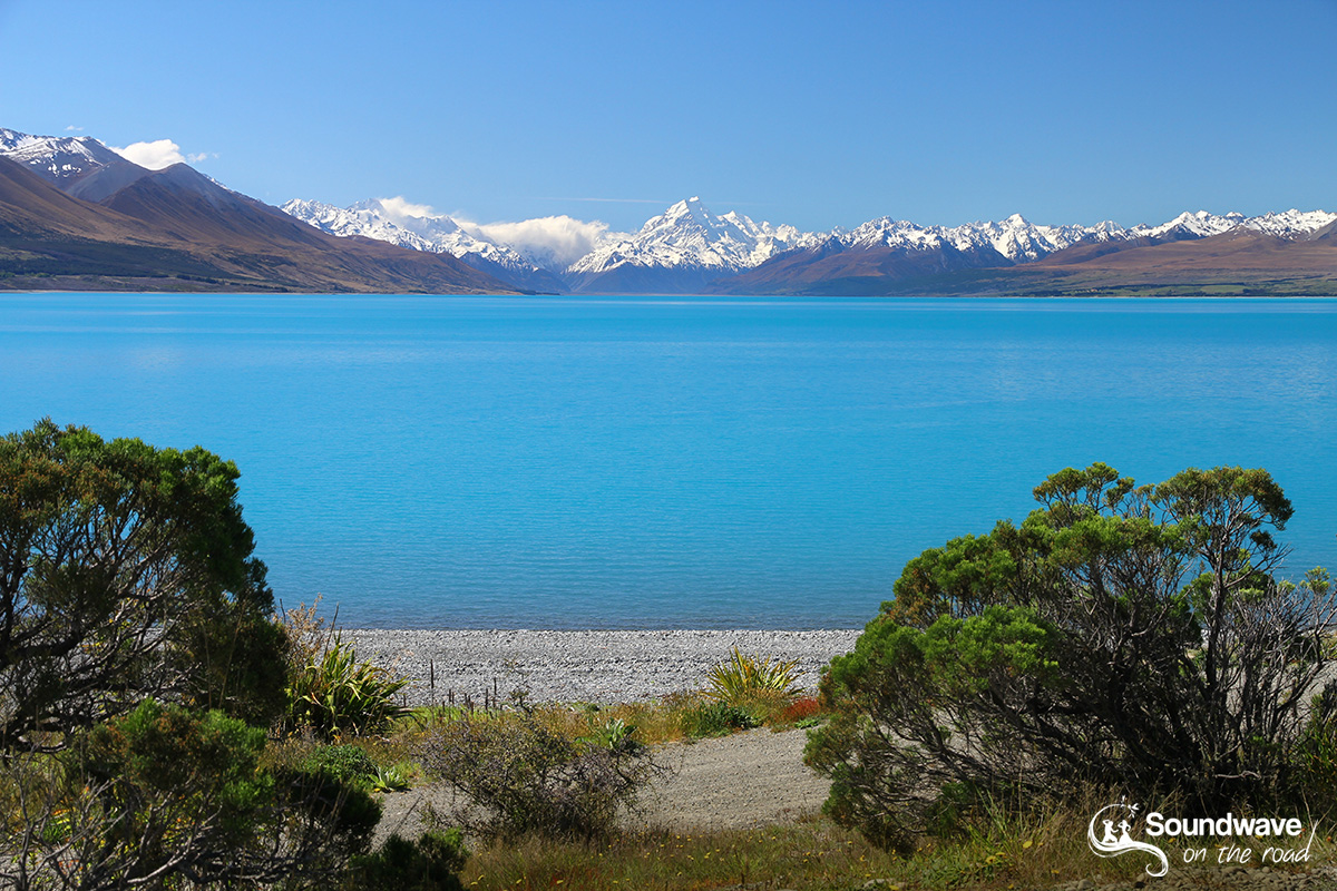 Lake Pukaki and Mount Cook, New Zealand