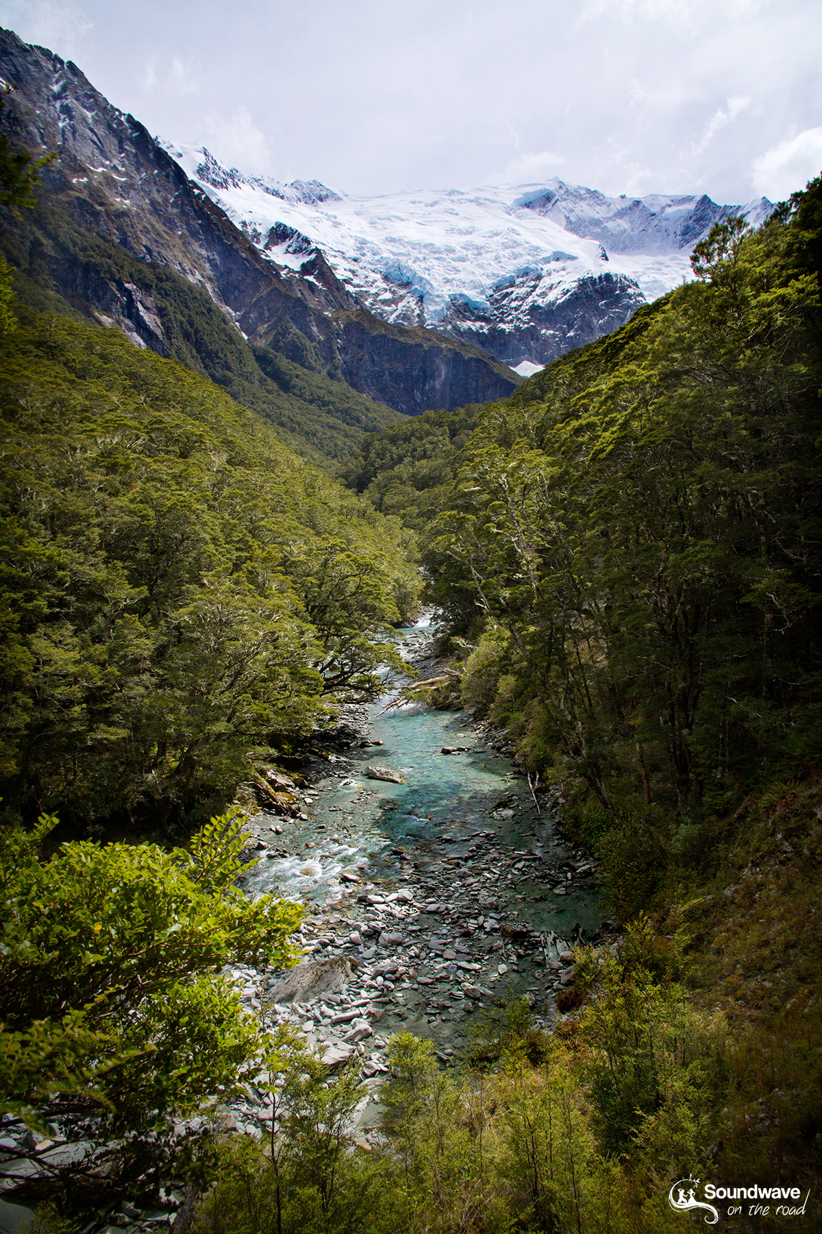 Rob Roy Glacier, New Zealand
