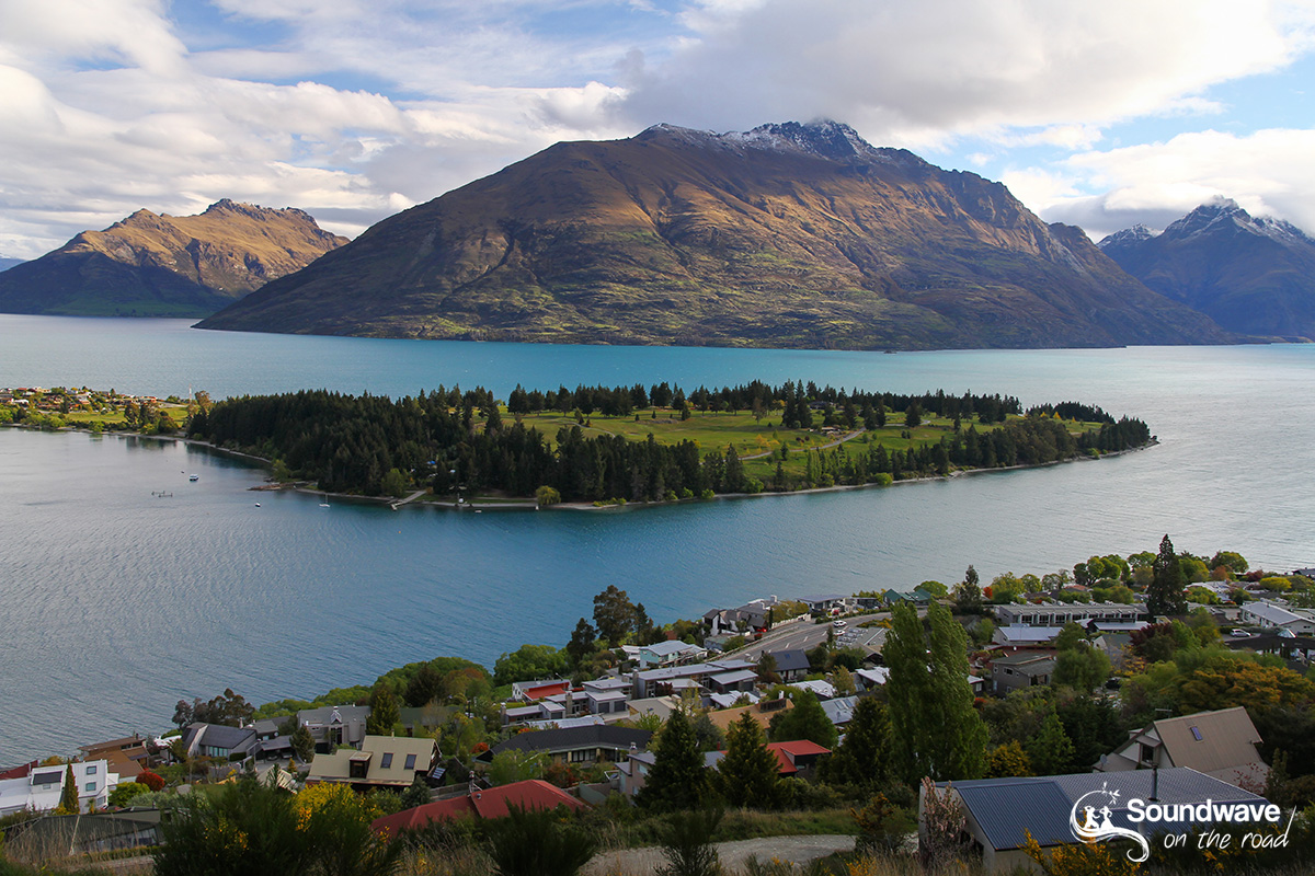 Wakatipu Lake, Queenstown, New Zealand
