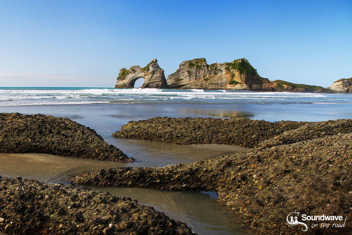 New Zealand South Island coastal landscape