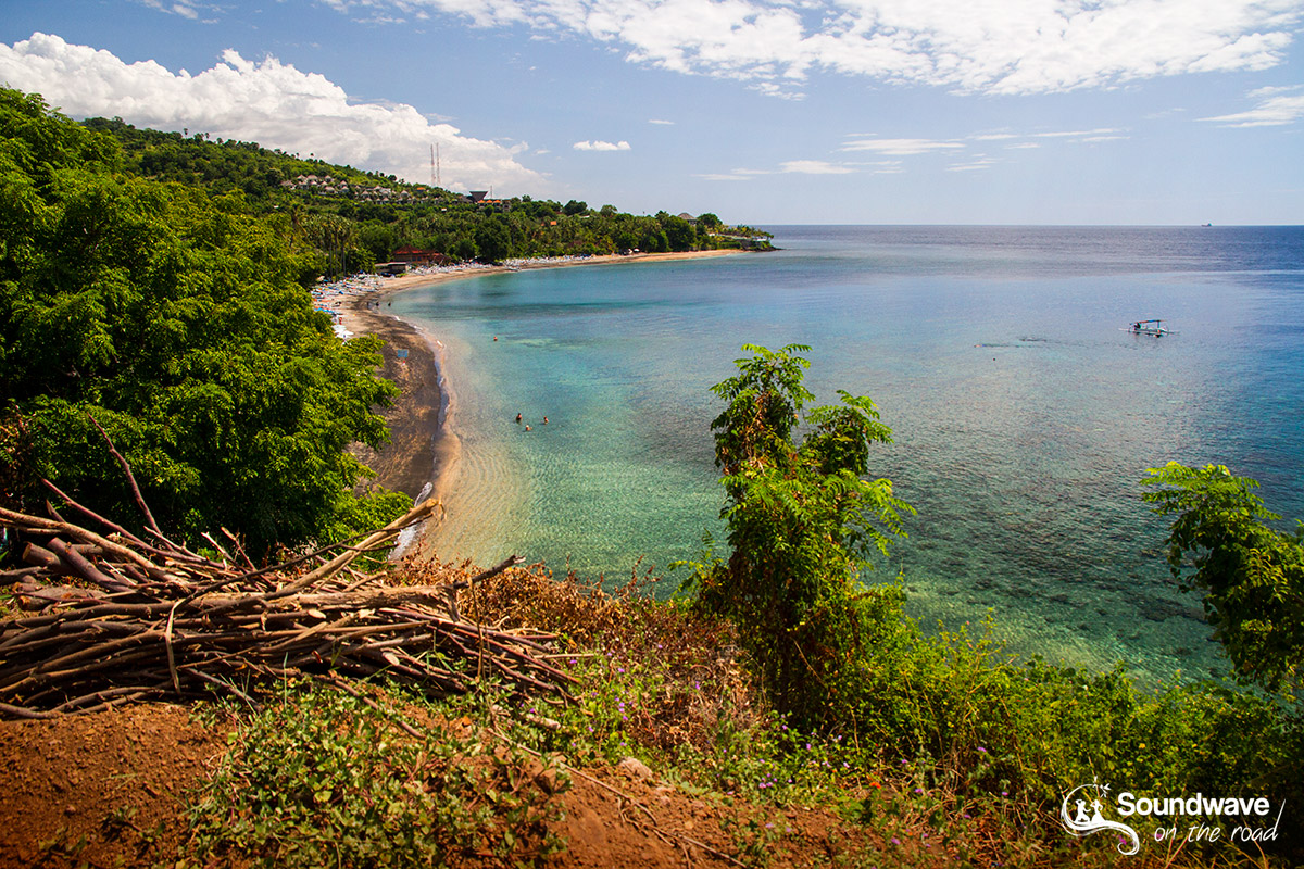 Clear waters in Amed, Bali