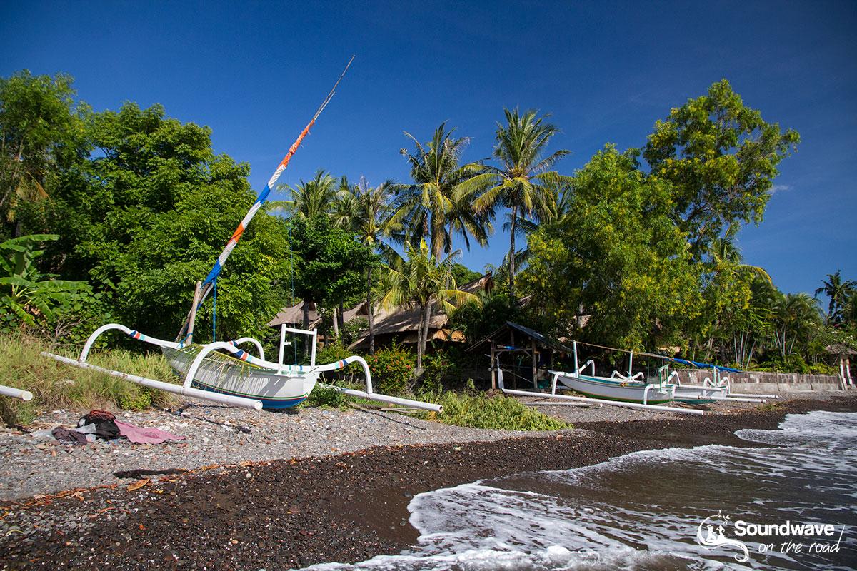 Paysage d'Amed à Bali