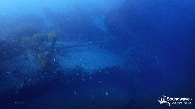 Japanese shipwreck in Amed, Bali