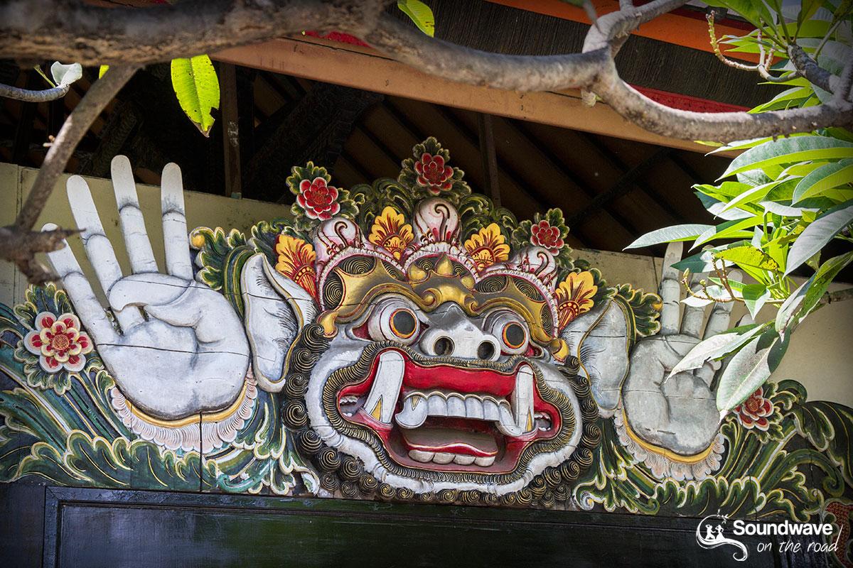 Hindu sculpture in Bali