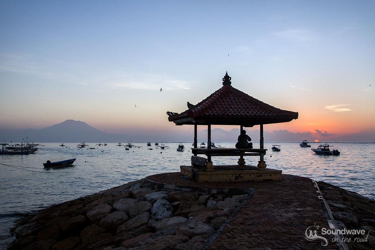 Sunrise in Sanur