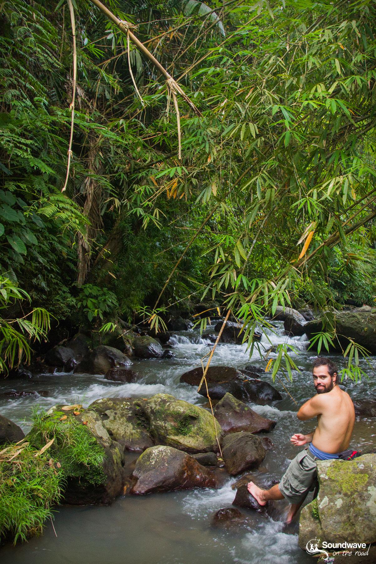 River in Ubud