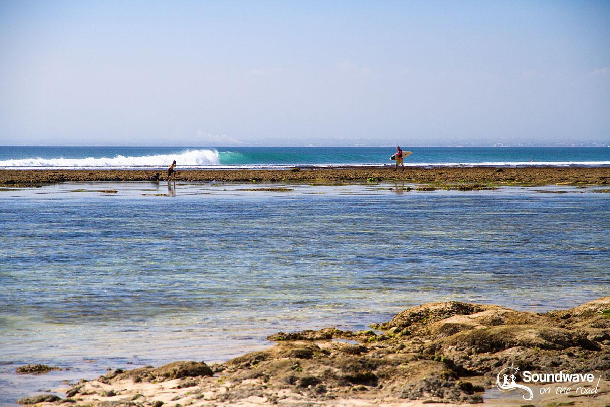 Surf reef in Bali
