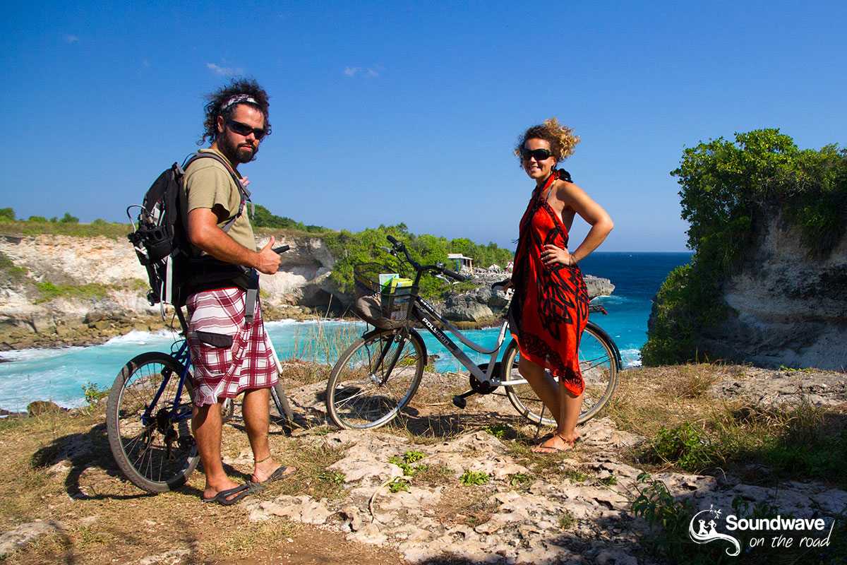 Rent a bike in Nusa Lembongan