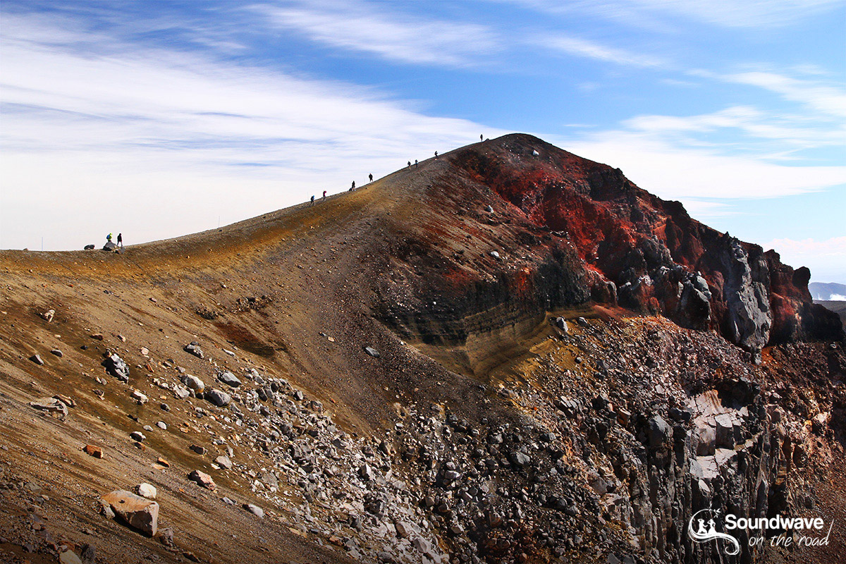 Red Crater Summit (1886 m), Tongariro Alpine Crossing