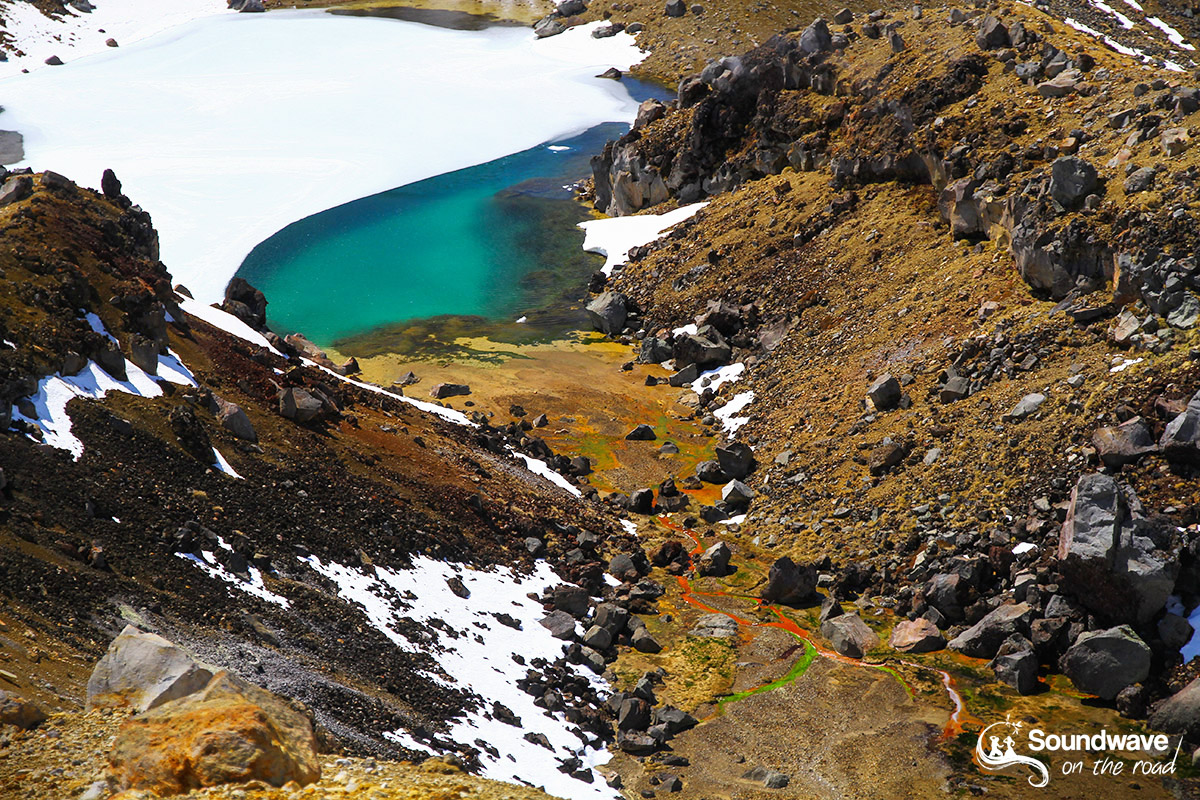 Emerald Lake, Tongariro Alpine Crossing