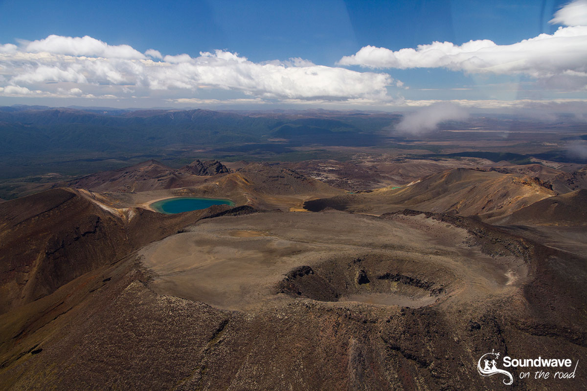 Scenic flight over Mount Tongariro