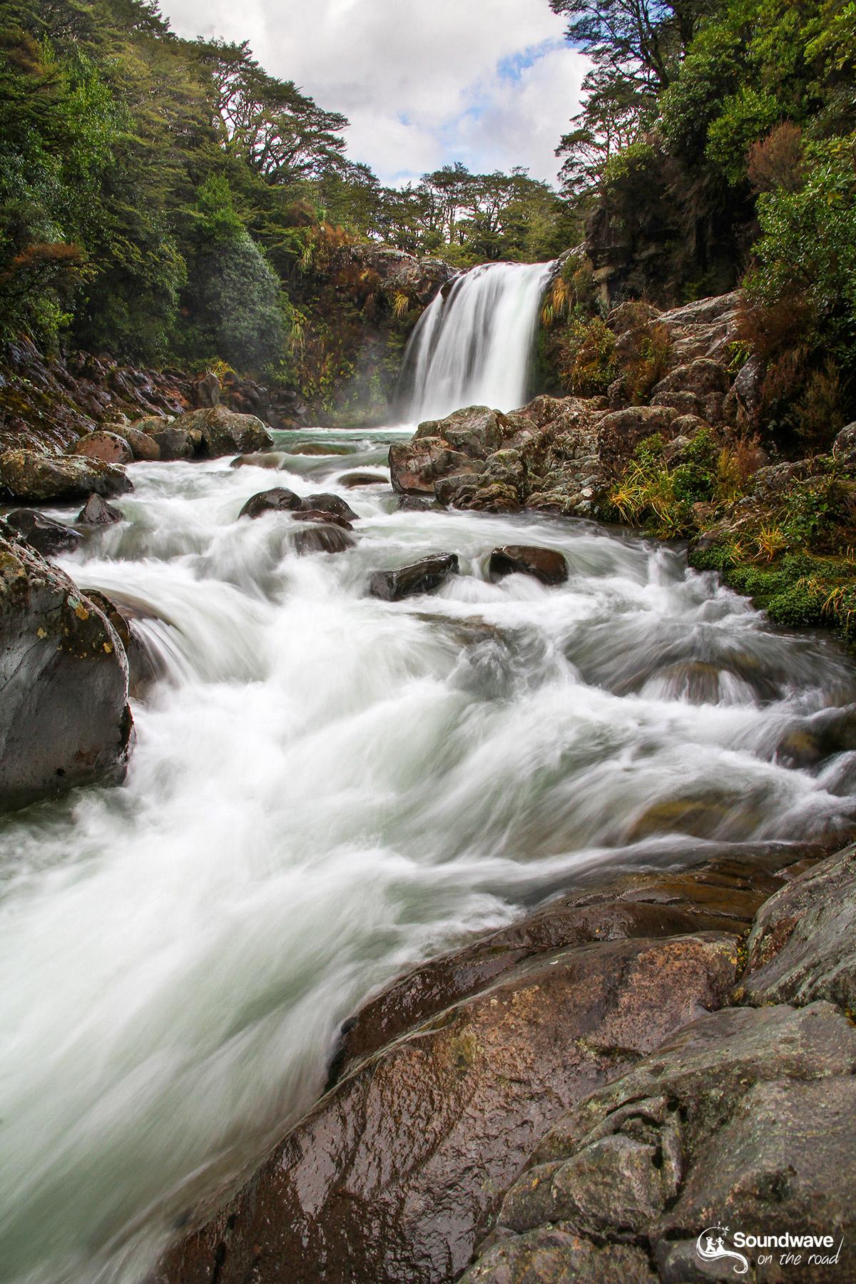 Tawhai Falls, Whakapapa Village, Tongariro National Park, New Zealand