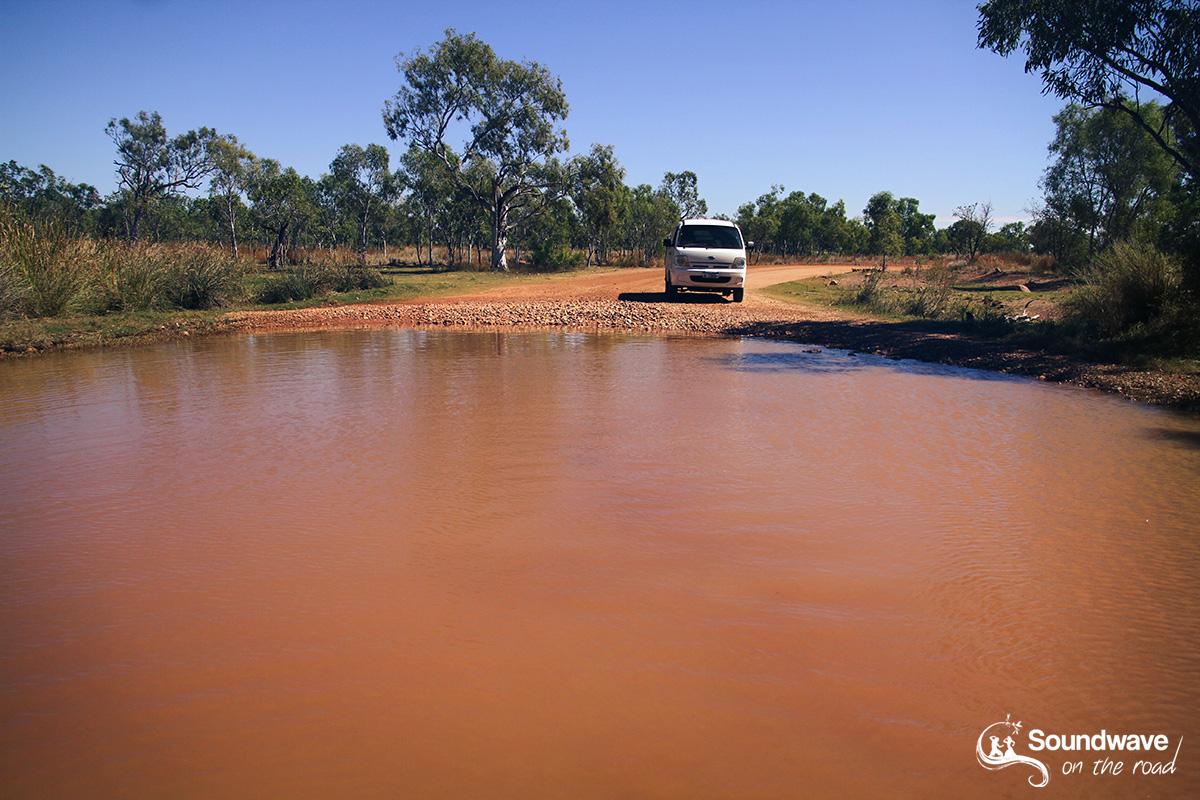 Crossing floods in the Kimberleys