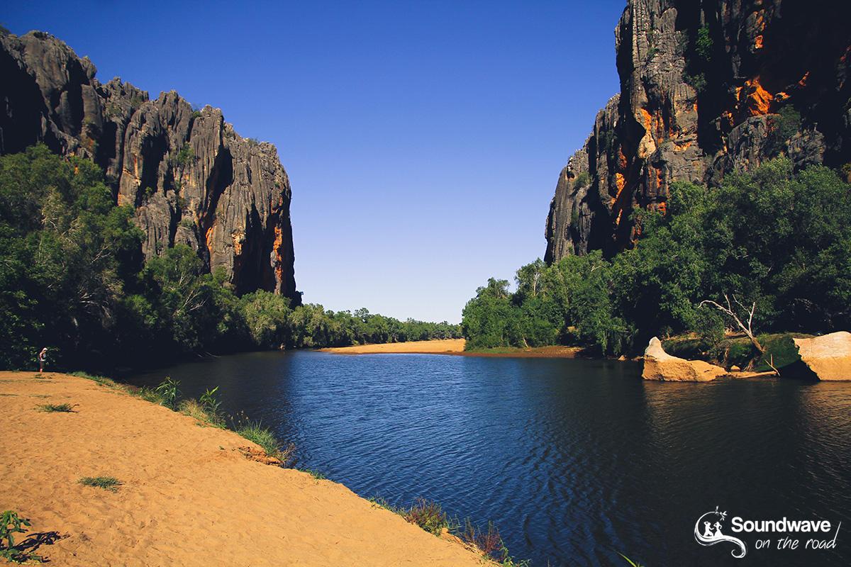 Lennard River, Windjana Gorge