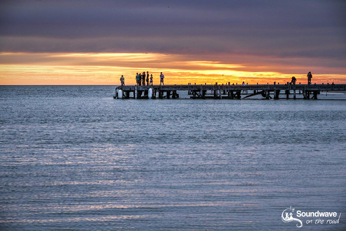 Sunrise in Monkey Mia, Australia