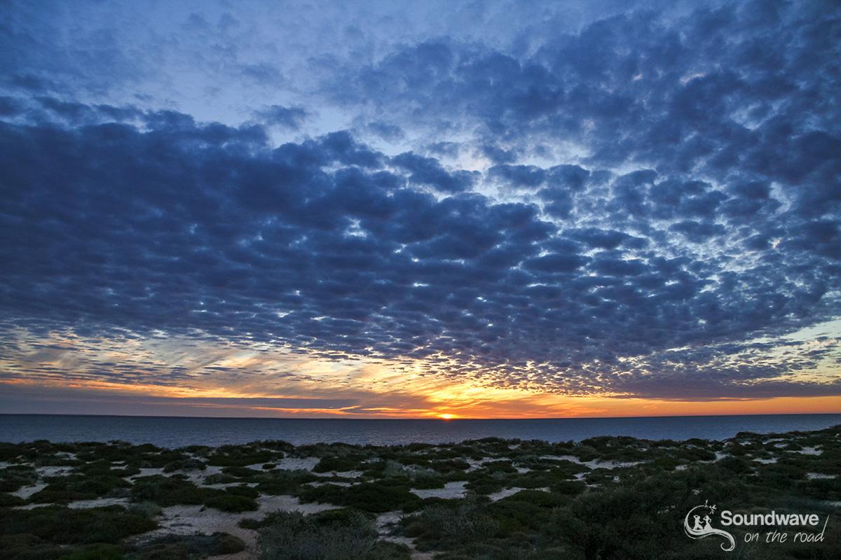 Sunset in Shark Bay, Western Australia