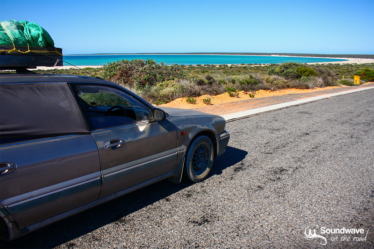 Road trip in Shark Bay, Western Australia