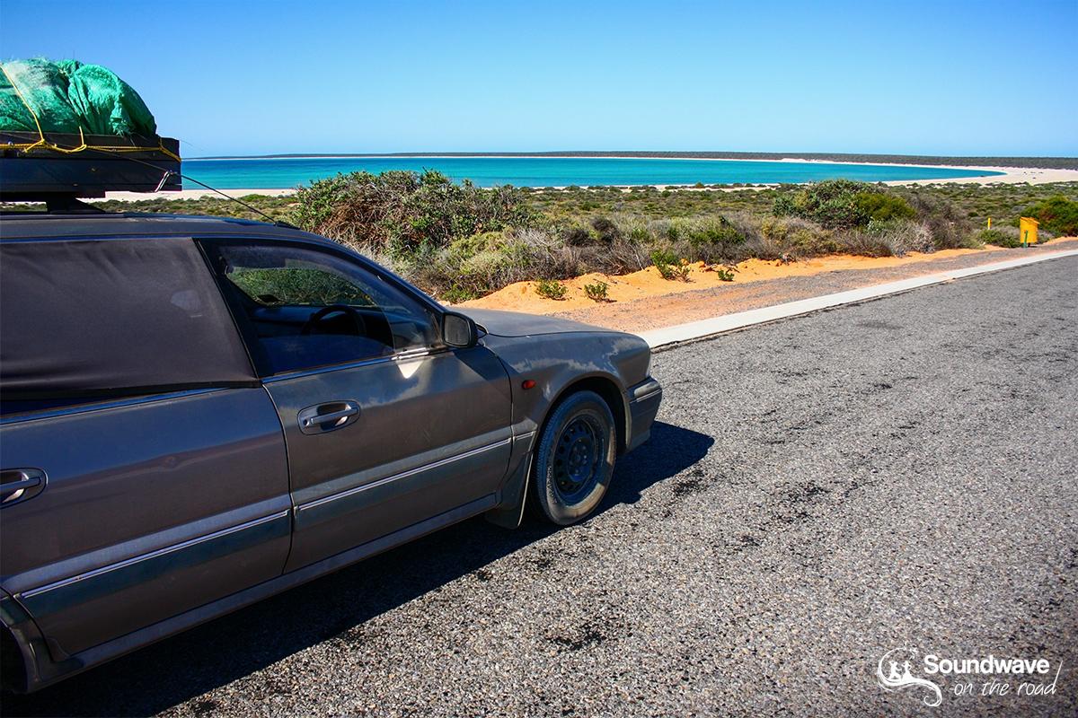 Road trip in Shark Bay, Western Australia