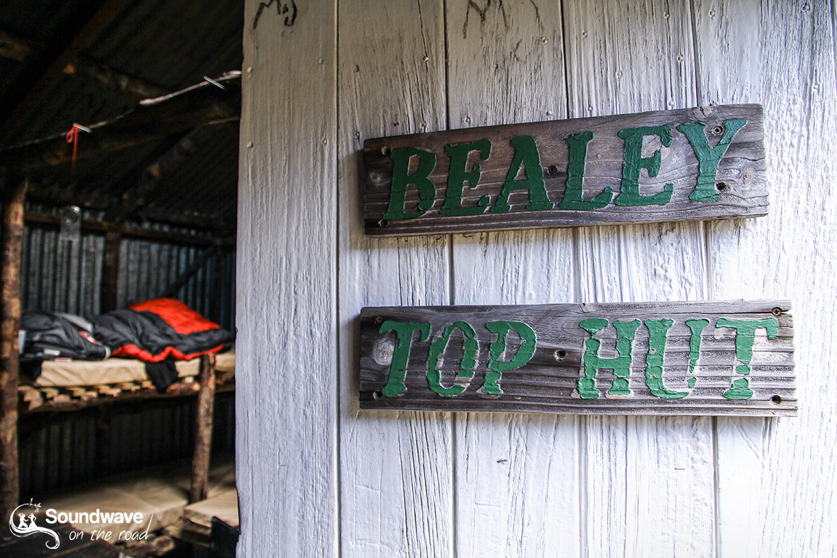 Bealey Spur Top Hut