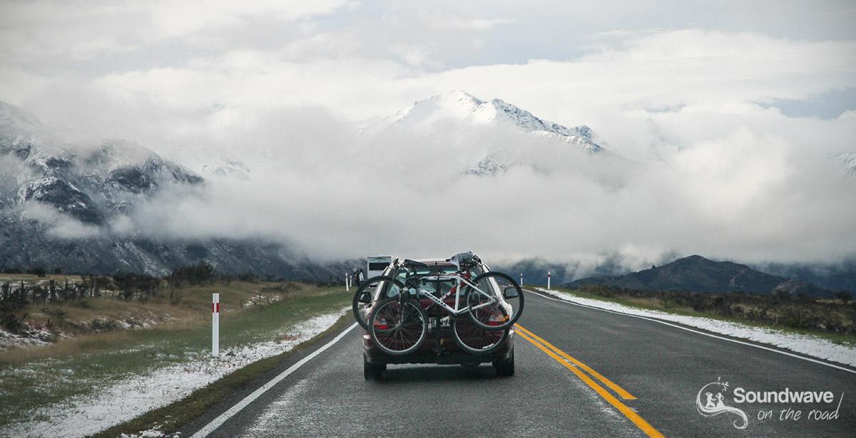 Sur la route d'Arthur's Pass, Nouvelle Zélande