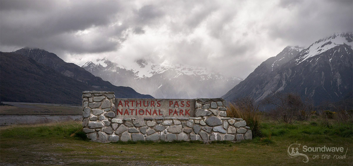 Arthur's Pass entrance