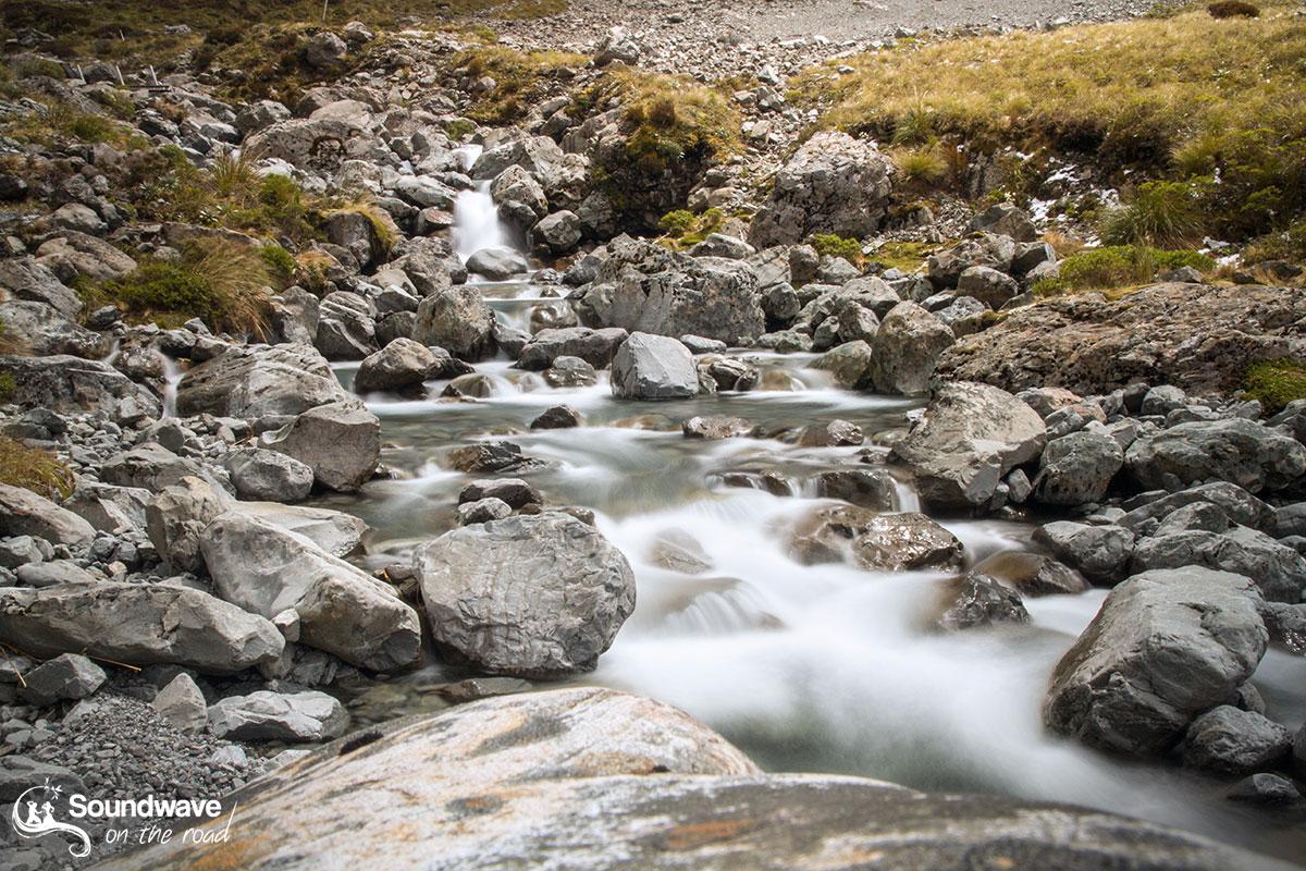 Otira Valley Waterfall