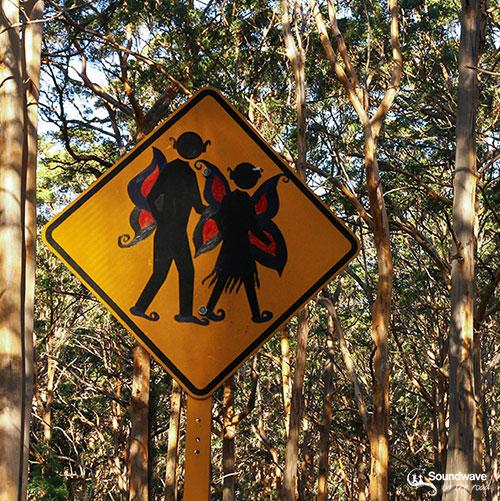 Roadsign People Crossing