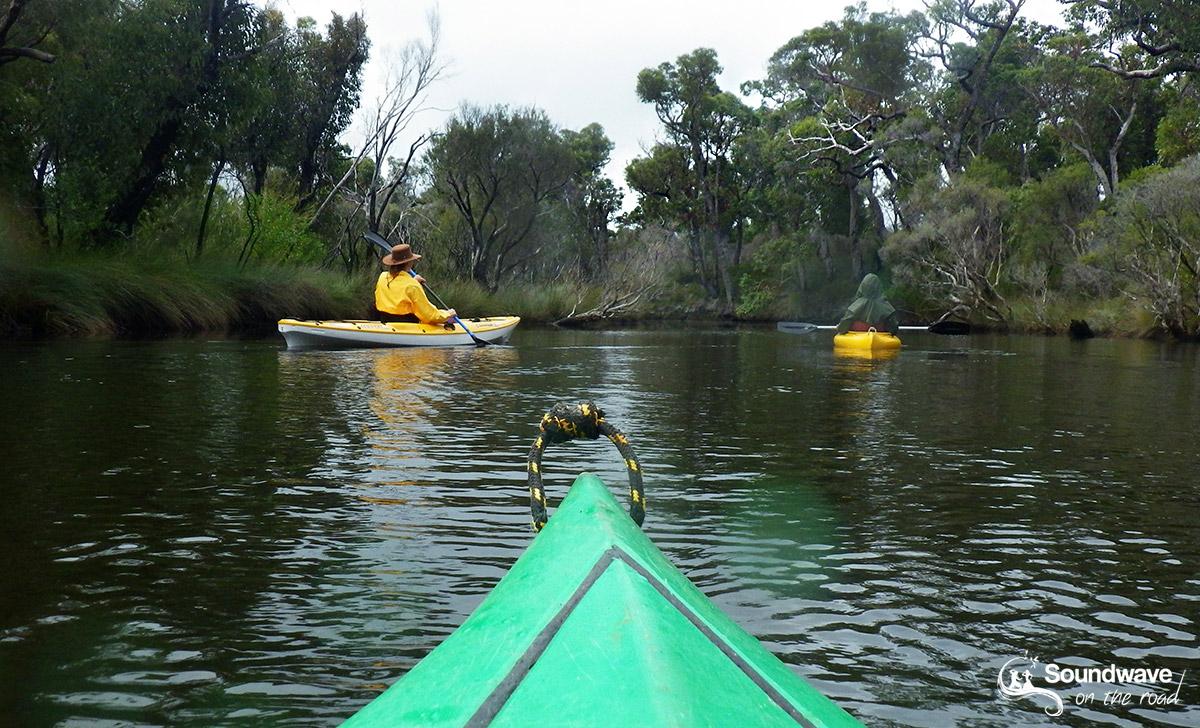 Kayak on the Walpole River