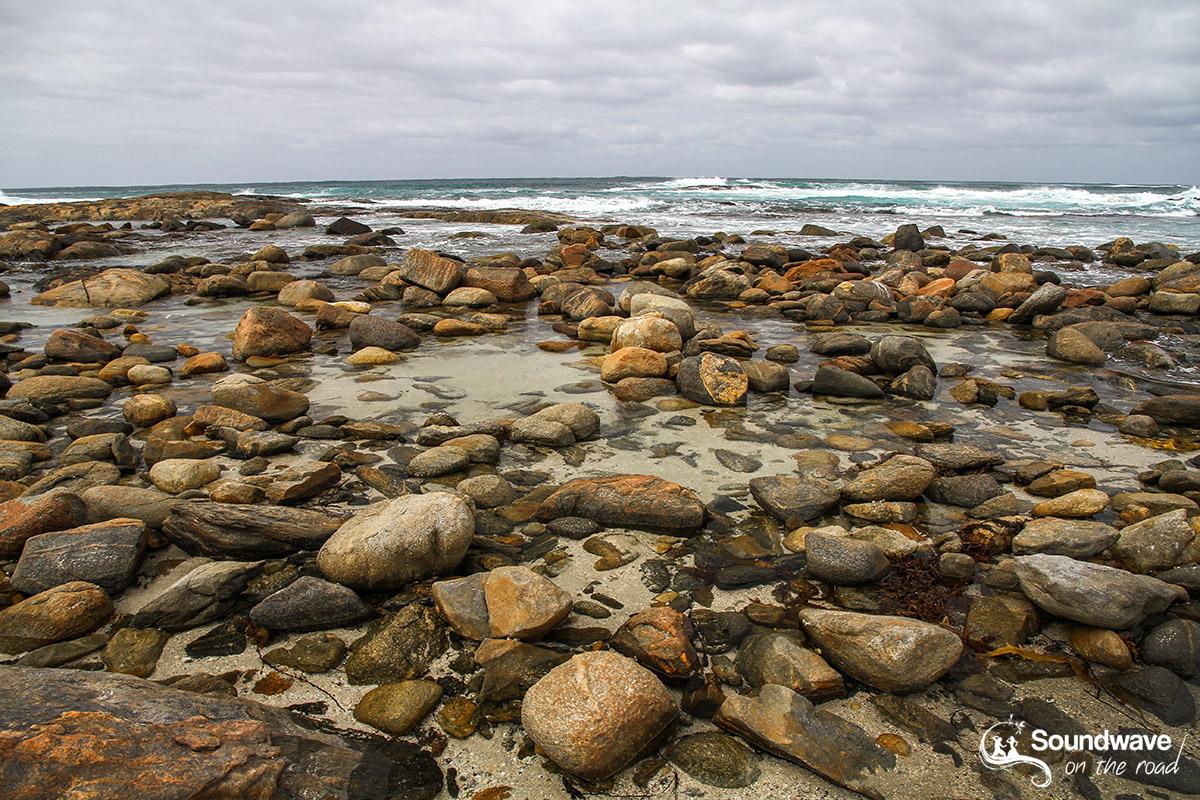 Peaceful Bay rocky beach