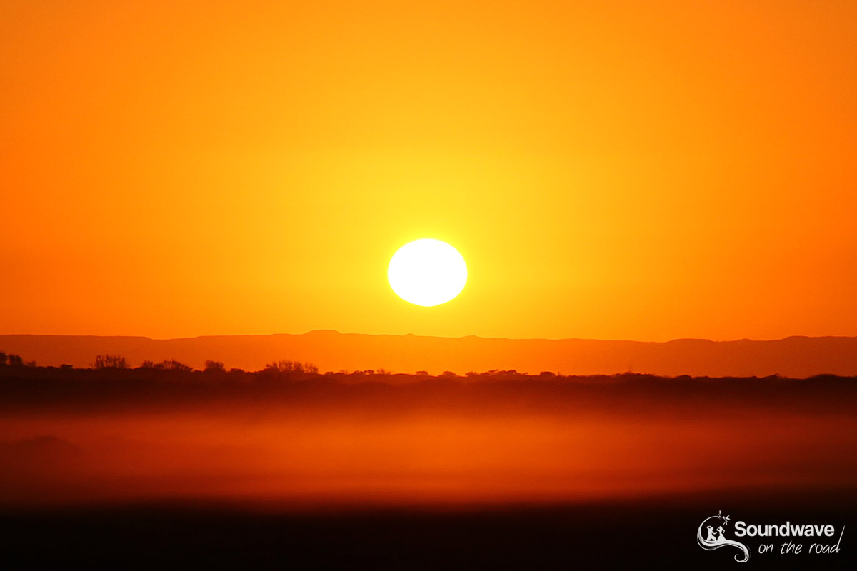 Sunrise in the australian outback