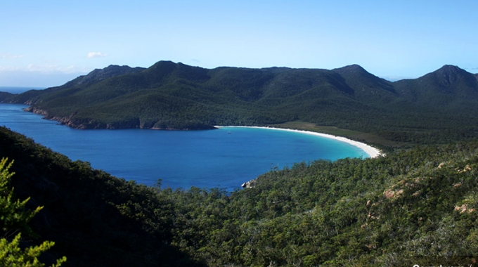 L'idyllique Wineglass Bay