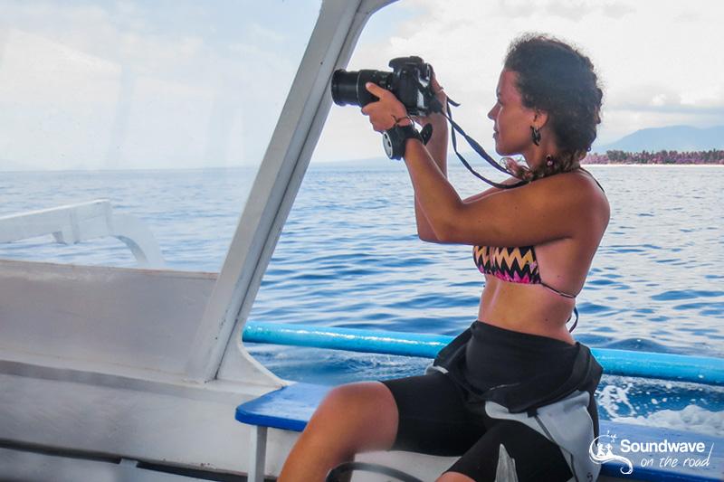 Diver and filmmaker