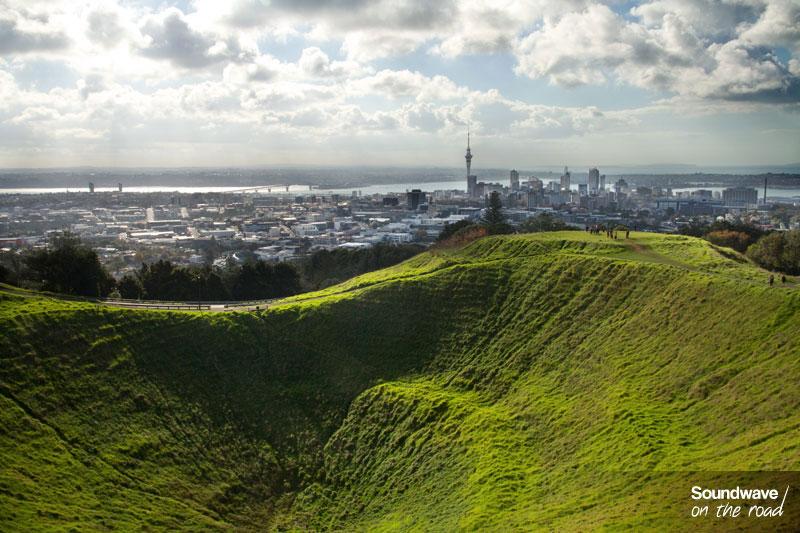 Auckland vue du Mt Eden