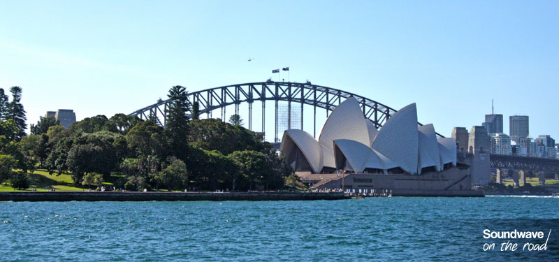 Sydney Opera House, Royal Botanic Gardens and Harbour Bridge